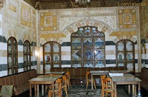 Café Beit Jabri-Damasco - Siria