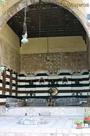 Dahdah Palace-Damascus - Syria Palacio Dahdah-Damasco - Siria