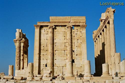 Great temple of Bel-Palmyra - Syria Gran Templo de Bel-Palmira- Siria