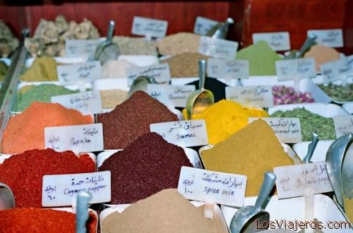 Via Recta-Spices-Damascus-Syria Calle Recta - Puesto de Especias-Damasco-Siria