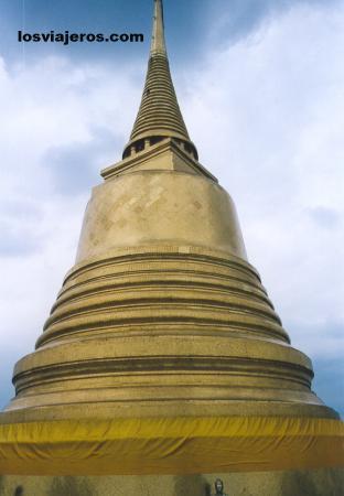 Golden Mount - Phukhao Thong - Wat Saket - Bangkok - Thailand Golden Mount - Phukhao Thong - Wat Saket - Bangkok - Tailandia