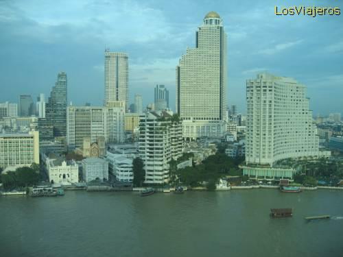 General view of Bangkok - Thailand Vista general de Bangkok - Tailandia