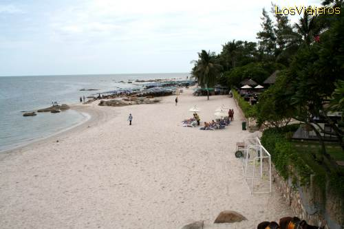 Hua Hin beach - Thailand Playa de Hua Hin - Tailandia