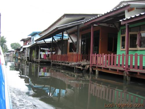 Bangkok canals - Thailand Canales de Bangkok - Tailandia