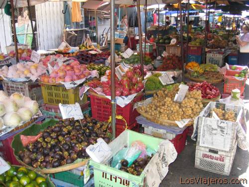 Lopburi's market - Tailandia - Thailand Mercado de Lopburi - Tailandia