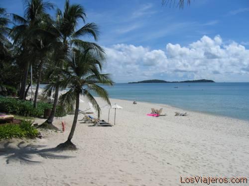 Chaweng Beach - Koh Samui - Thailand Playa de Chaweng - Isla de Koh Samui - Tailandia