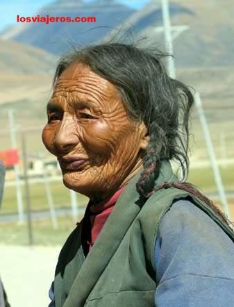 Mujer Tibetana - Tibet - China Mujer Tibetana - Tibet - China