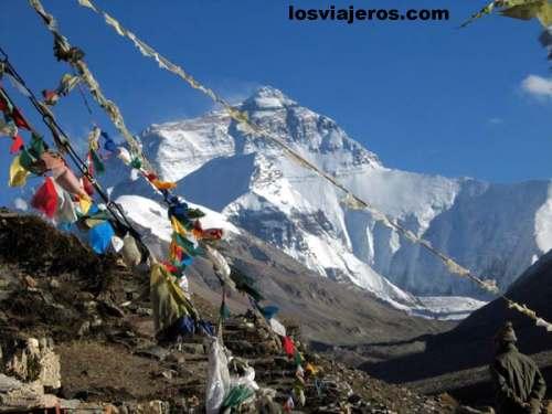 Mt Everest - Himalaya - Tibet - China Mt Everest - Himalaya - Tibet - China