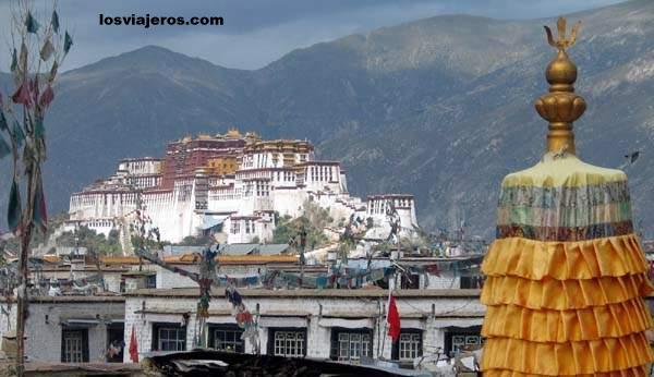 Potala - Lhasa - Tibet - China Potala - Lhasa - Tibet - China