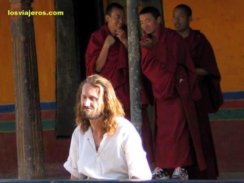 Traveller - Tibet - China Viajero en el Tibet - China