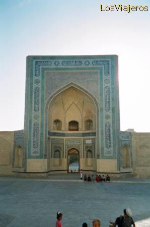 Mezquita Kalián (Mezquita del Viernes) -Bukhara- Uzbekistan