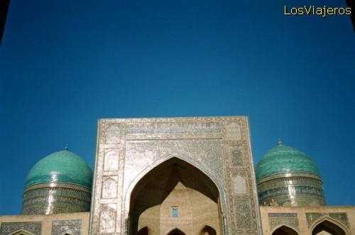 Madrassa Miri Arab -Bukhara- Uzbekistán - Uzbekistan Miri-Arab Madrassah -Bukhara- Uzbekistan