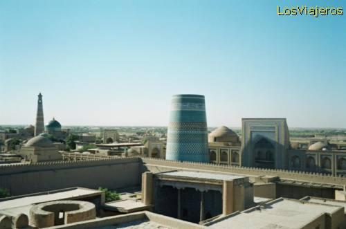 Khiva- Uzbekistan La ciudad de Khiva- Uzbekistán - Uzbekistan