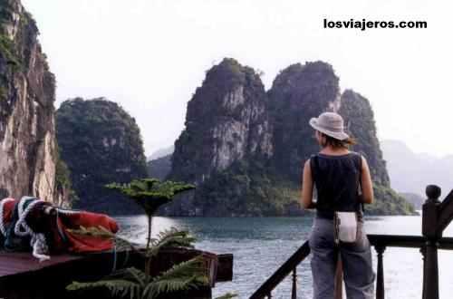 Bahia de Halong - Vietnam Bahia de Halong - Vietnam