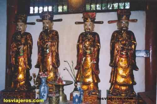 Imagenes chinas en la pagoda del Perfume - Vietnam Imagenes chinas en la pagoda del Perfume - Vietnam