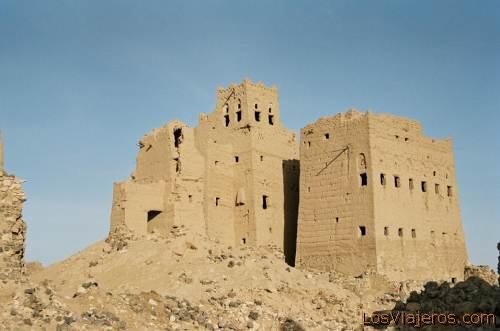 Abandoned city-Marib-Yemen Ciudad fantasma-Marib-Yemen
