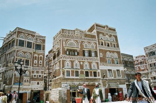 Old City-Yemen-Sanaa-Yemen Ciudad vieja-Sanaa-Yemen