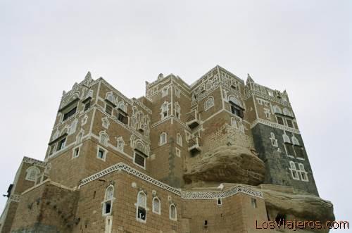 Palace of the Imam-Wadi Dhar-Yemen Palacio del Imán-Wadi Dhar-Yemen