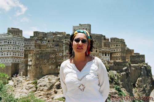 Marta in Al-Hajjarah - Yemen Marta en Al-Hajjarah - Yemen