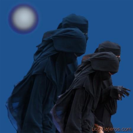 Yemeni Women Mujeres yemeníes - Yemen