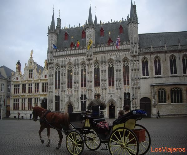 City Hall of Bruges - Belgium Ayuntamiento de Brujas - Belgica
