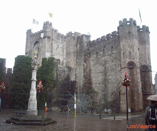 Castillo de Gravensteen. Gante. - Belgica Castle Gravensteen. Ghent. - Belgium