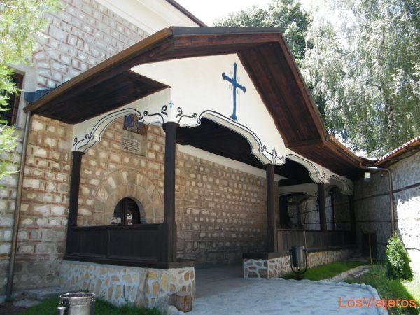 Village located at the foot of Pirin - Bulgaria Pueblo situado en el parque natural del Pirine  - Bulgaria