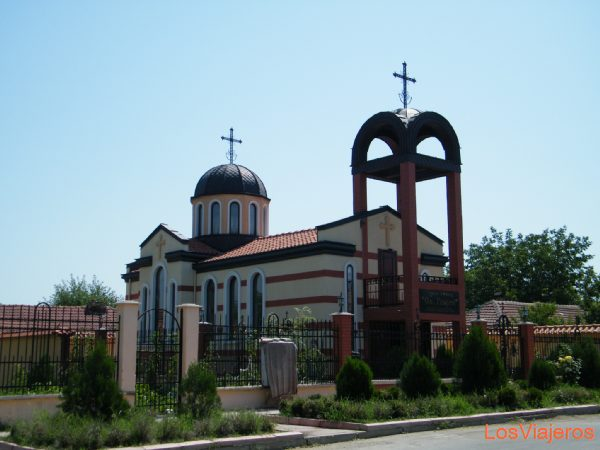 Iglesia de Ivanovo - Bulgaria