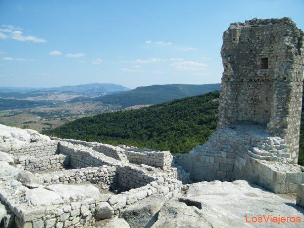 Old thracian city called Perperikon - Bulgaria Antigua ciudad tracia llamada Perperikon - Bulgaria