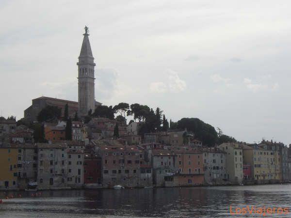 Vista de Rovinj - Croacia
