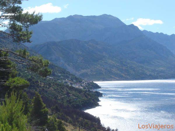 mountain and sea - Croatia Montaña y mar - Croacia