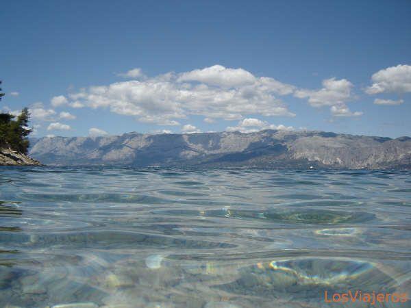 water - Croatia Agua en Hvar - Croacia