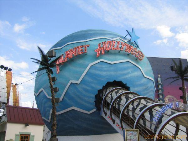 Restaurante Planet Hollywood en el Village - Disneyland París - Francia Restaurant Planet Hollywood in the Village - Disneyland París - France