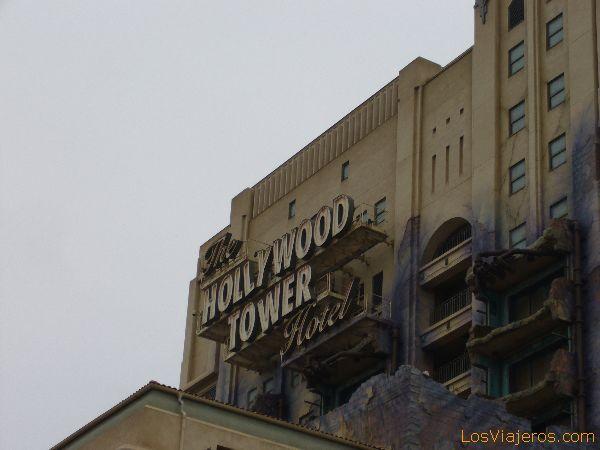 The tower of the terror - Walt Disney Studios Park - France La Torre del Terror - Walt Disney Studios París - Francia