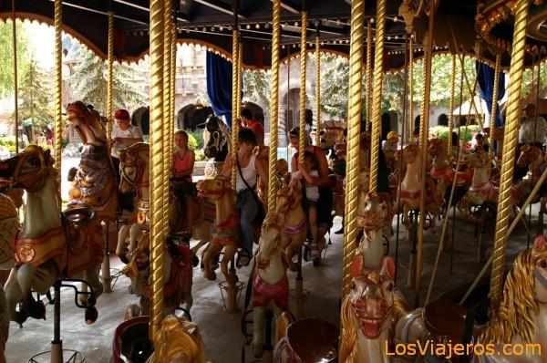 Carrusel - Disneyland - Francia Caroussel - Disneyland - France