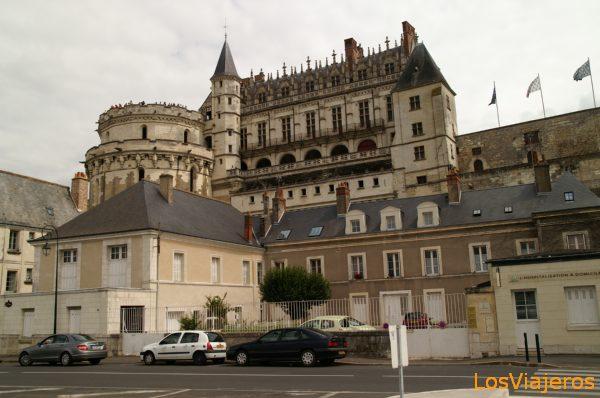 Castle of Amboise -Loire Castles- France Castillo de Amboise - Francia