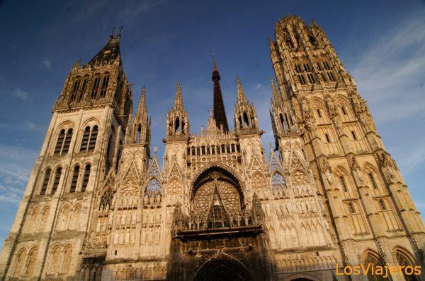 Rouen Cathedral - France La Catedral de Rouen - Francia