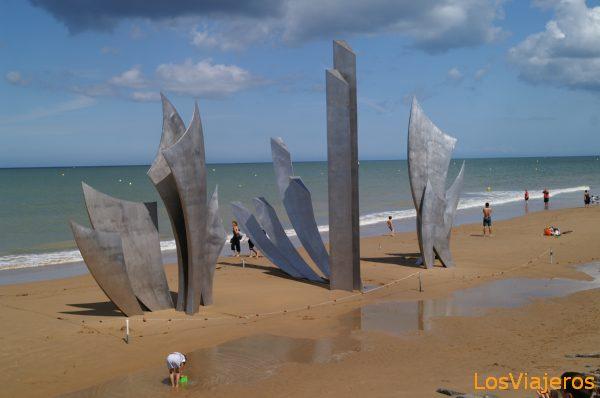 Playa de Omaha -Normandia- Francia