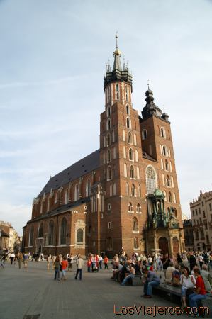Holy Mary Church -Krakow- Poland Basilica de Santa Maria -Cracovia- Polonia