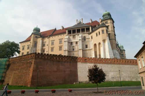 Wawel Hill in Krakow- Poland La colina de Wawel -Cracovia- Polonia