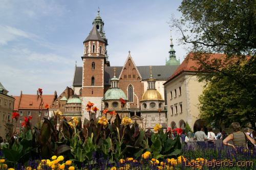 La catedral de Wavel -Cracovia- Polonia