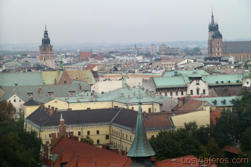 Vista General de Cracovia- Polonia