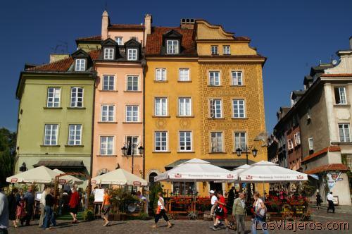Plaza del Castillo -Varsovia- Polonia Castle Square -Warsaw- Poland