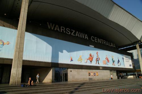 Warszawa Centralna Station -Warsaw- Poland Estacion de Tren Warszawa Centralna -Varsovia- Polonia