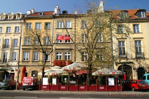 Calle Krakowskie Przidmiescie -Varsovia- Polonia Krakowskie Przidmiescie street -Warsaw- Poland