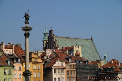 Plaza del Castillo -Varsovia- Polonia