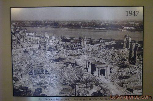 Warsaw 1947- Poland Varsovia 1947- Polonia
