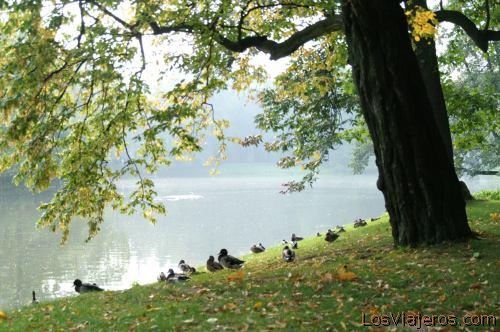 Lazienki Park -Warsaw- Poland Parque Lazienki -Varsovia- Polonia