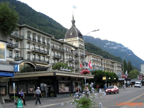 Hotel Victoria -Interlaken - Suiza Hotel Victoria -Interlaken - Switzerland