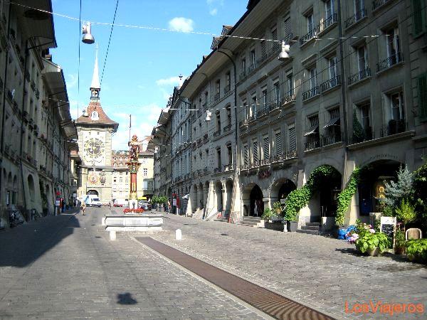 Streets of Bern - Switzerland Calles de Berna - Suiza